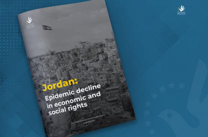 Jordan: Epidemic decline in economic and social rights
