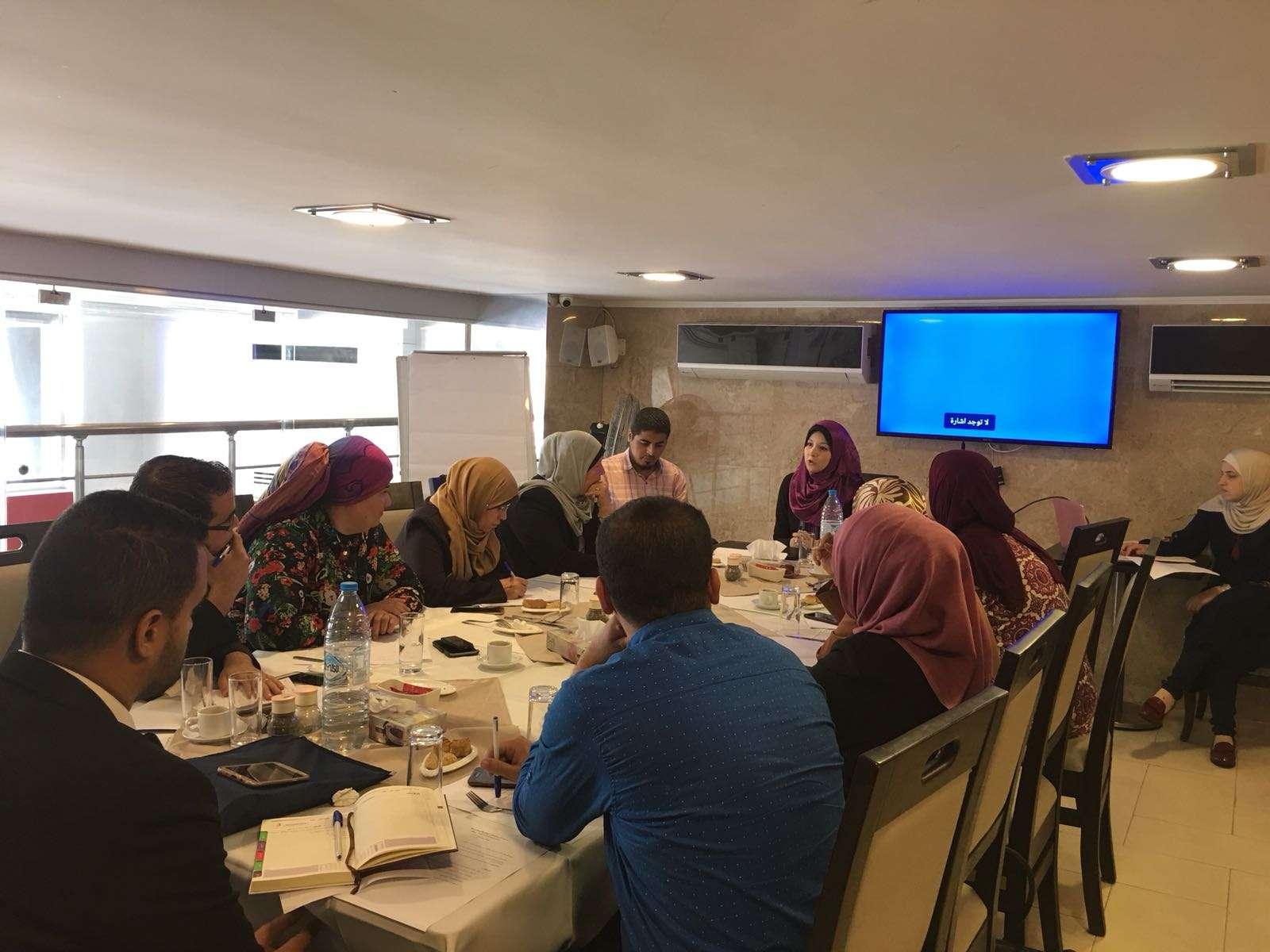 """Territoires palestiniens: Euro-Med organise un atelier pour identifier les besoins des institutions participantes au projet """"Incubateur de Leadership Féminin"""""""