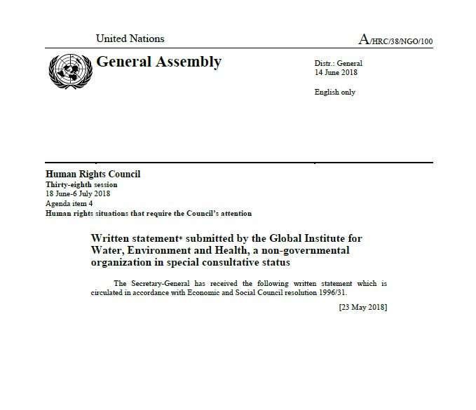 Euro-Med et GIWEH remettent aux Nations Unies deux documents sur les barrages routiers israéliens en Cisjordanie et l'abus de veto en Syrie