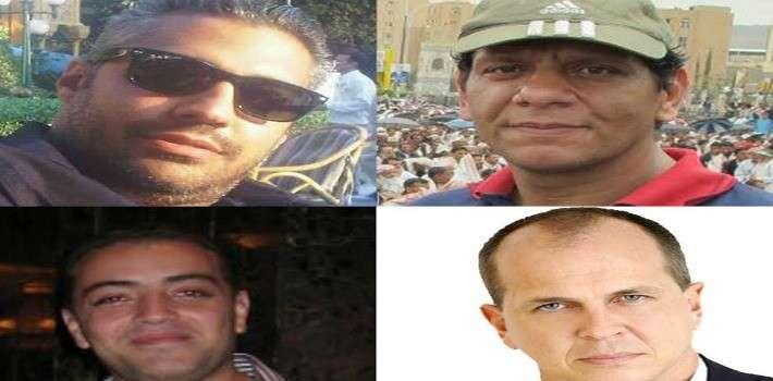 """دعوة السلطات المصرية للإفراج عن مراسلي """"الجزيرة"""" ووقف قمع الصحفيين"""