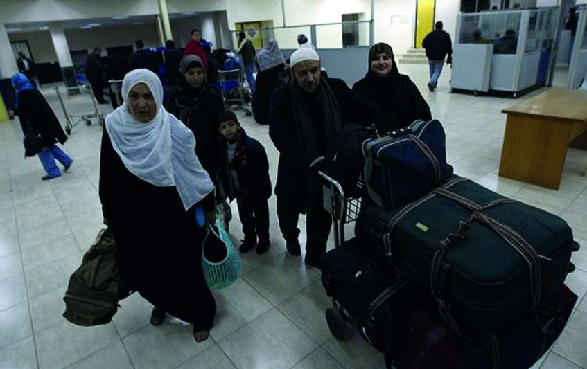 PNA calls for an end to Israel's travel prohibition against Palestinians