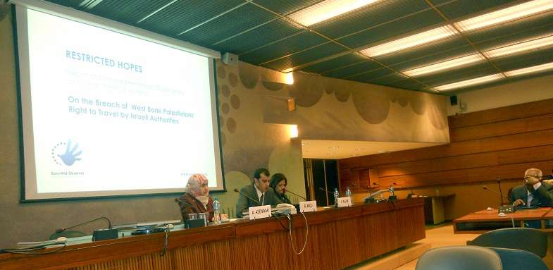"""""""Restricted Hopes"""" Discussed in the UN Human Rights Council, Geneva"""