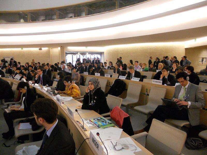 مجلس حقوق الانسان يتبنى 5 قرارات تتعلق بفلسطين وتدين الاحتلال