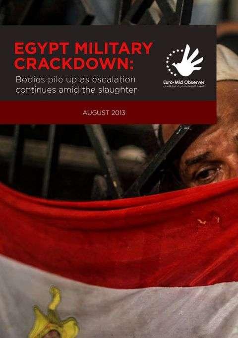 دعوة إلى محاكمة مرتكبي جرائم الحملة العسكرية في مصر