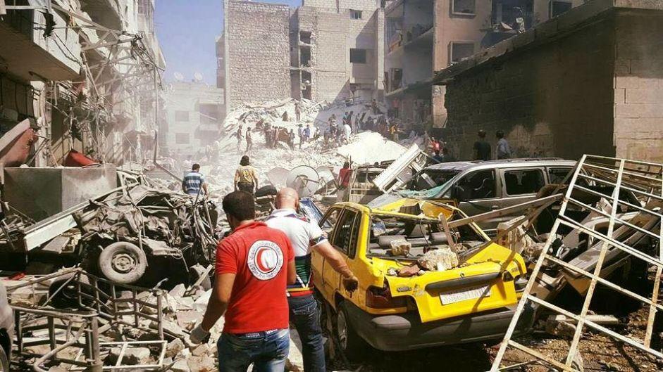 Syria's war: Blasts hit Tartous, Homs, Hasaka