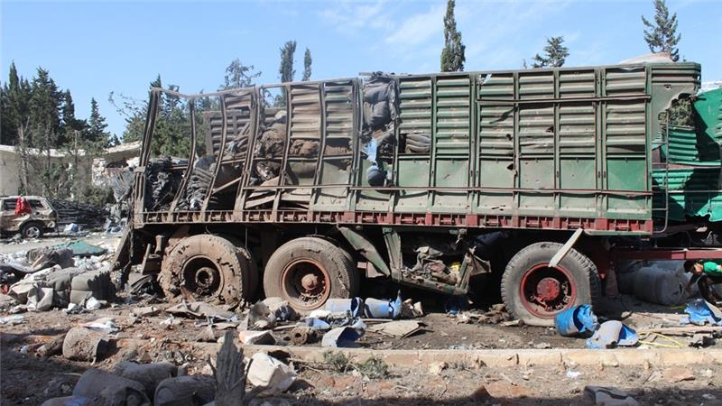 Syria truce: UN aid delivery to Aleppo to resume