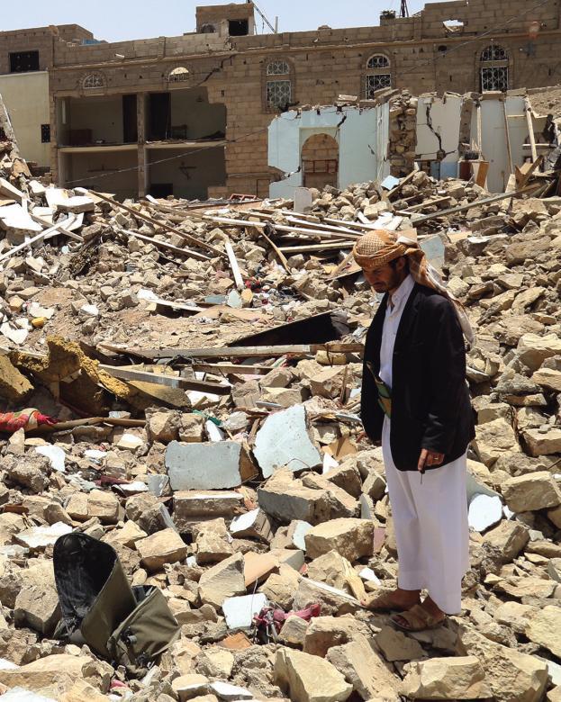 على الولايات المتحدة الكف عن اختلاق الأعذار لانتهاكات السعودية في اليمن