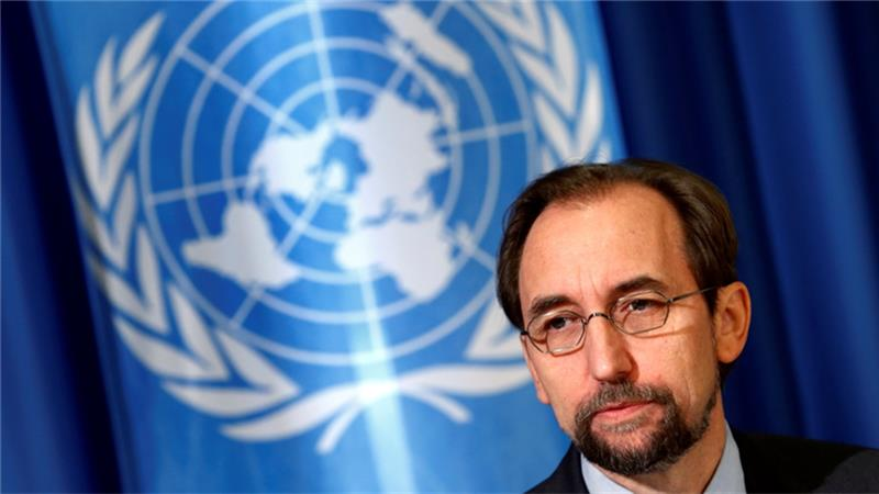 UN rights chief denounces Aleppo raids as 'war crimes'