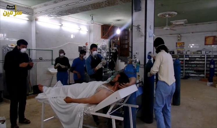 واشنطن تندد باستخدام النظام السوري للكيميائي