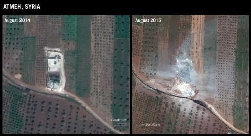 Frappes des Etats-Unis en Syrie : des victimes civiles