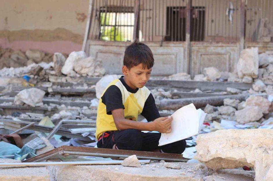 Russie / Syrie : Des images satellite et vidéos confirment l'attaque contre l'école à Haas