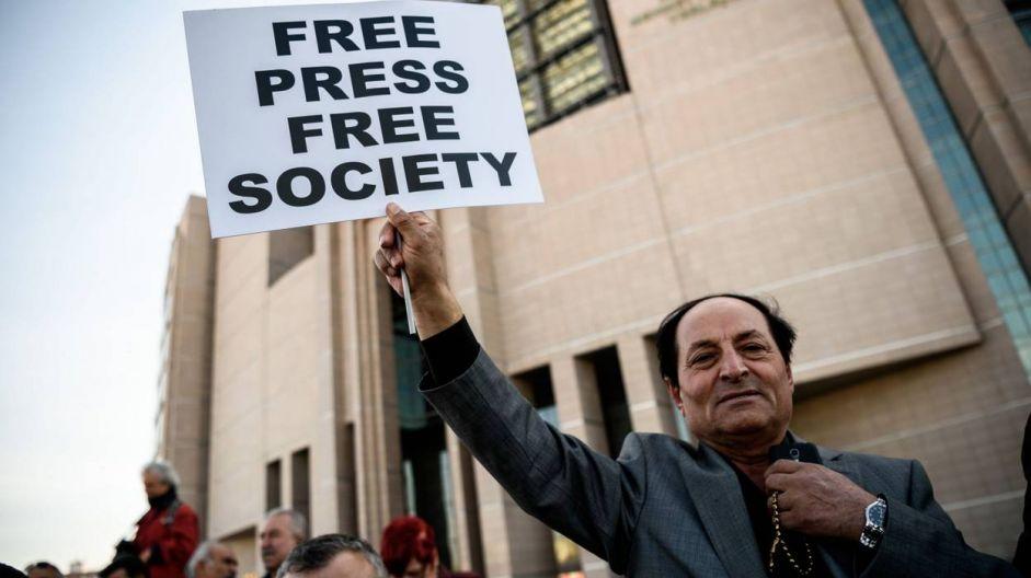 La liberté de la presse en Turquie et l'hypocrisie des partisans de Gülen