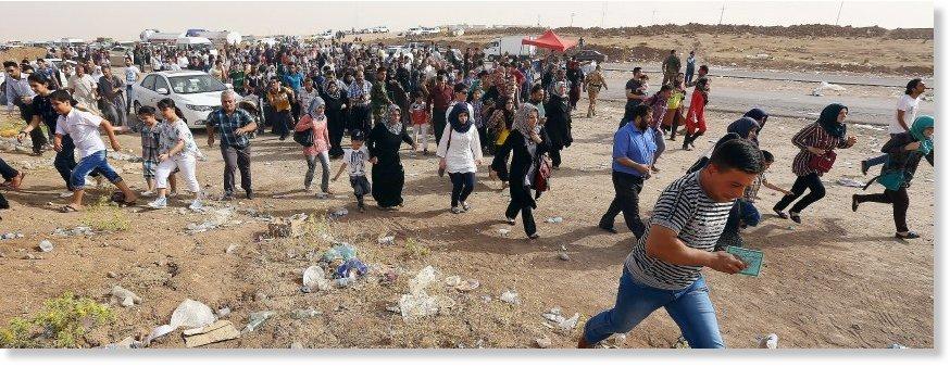 Mossoul: les récits poignants des rescapés