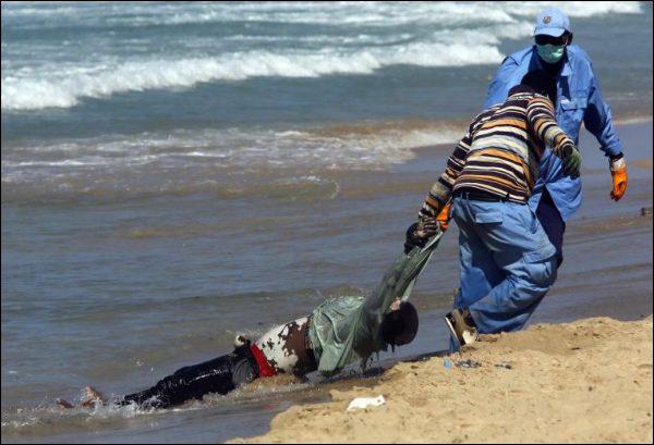 Des centaines de migrants morts noyés au large de la Libye, selon l'ONU