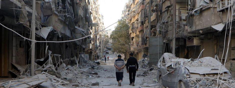 Dans l'est d'Alep, les civils craignent les actes de représailles