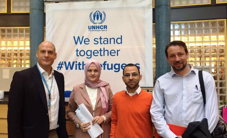 Euro-Med Monitor representatives meet with UNHCR officials, agree on common efforts to support refugees