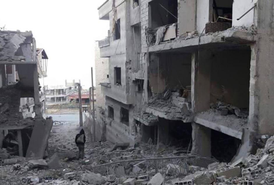 سوريا: النظام السوري يستهدف آخر نقطة طبية في بلدة مضايا