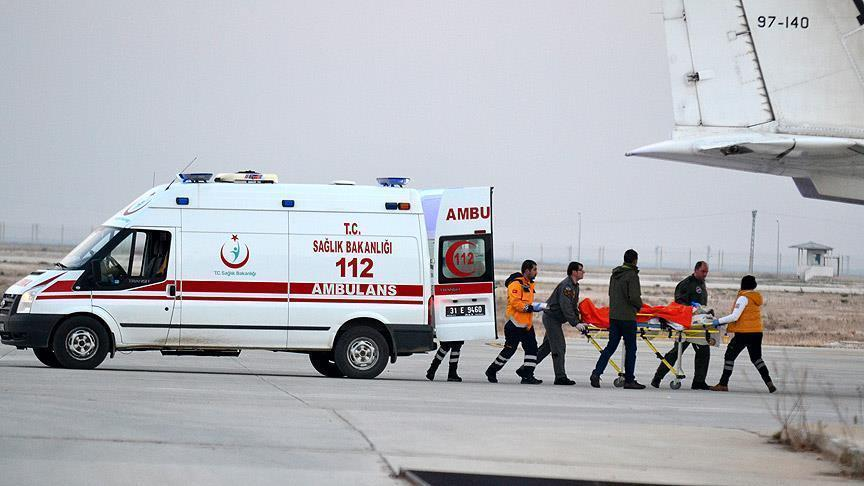 ارتفاع عدد جرحى حلب في المستشفيات التركية إلى 246