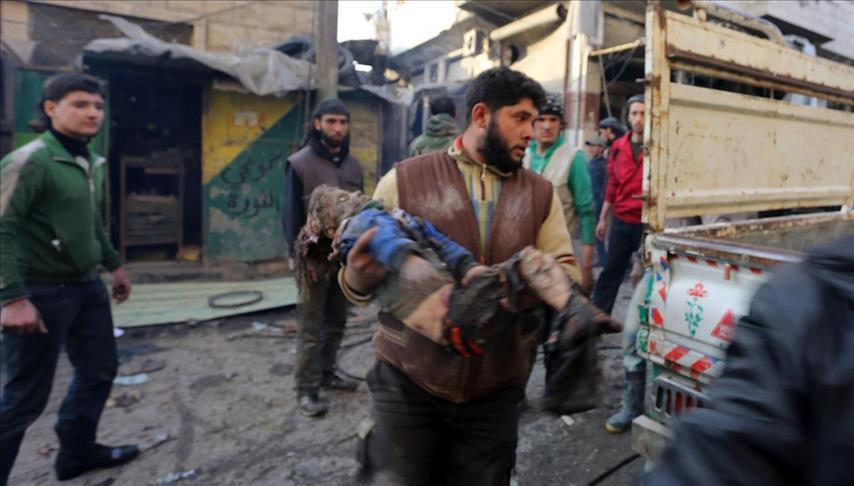 مقتل 68 مدنياً في هجمات النظام السوري على إدلب وحلب