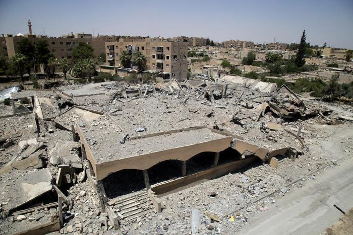 Syrie : des frappes de la coalition ont tué des nombreux civils
