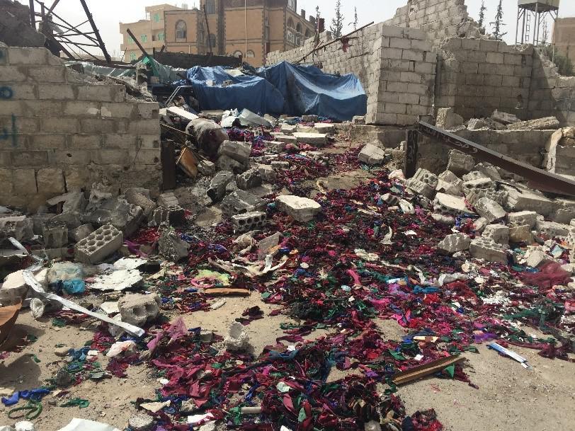 Yémen : La coalition a mené des frappes aériennes contre des usines civiles