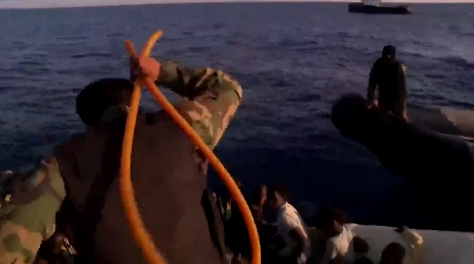 Libyan coastguard's whipping of migrants is a despicable violation of human rights