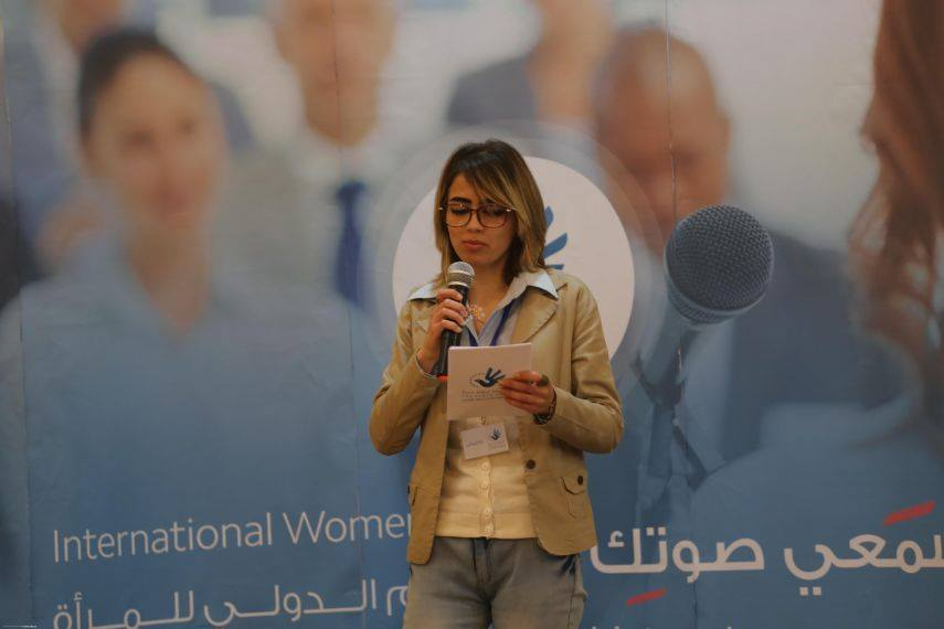 On International Women's Day, Euro-Med urges, 'listen to your voice'