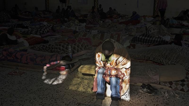 Amid Libya's chaos, human traffickers have free rein