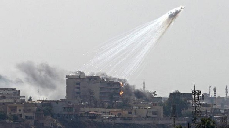 Iraq/Syria: Danger From US White Phosphorus