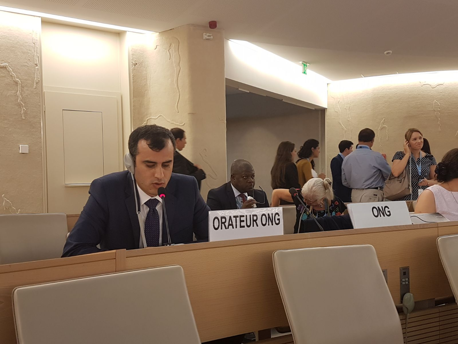 Israeli violations in occupied Jerusalem addressed during UN human rights session  by Euro-Med Monitor chairman