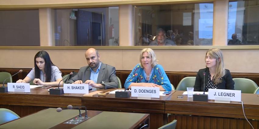 خلال ندوة نظمها في مجلس حقوق الإنسان الأورومتوسطي: المنطقة العربية تشهد أسوأ انحدار بمعدلات حريات الرأي والتعبير