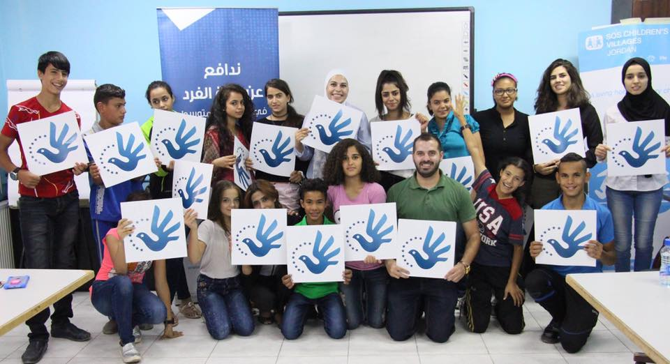 Euro-Med Monitor holds a training course to children in Jordan