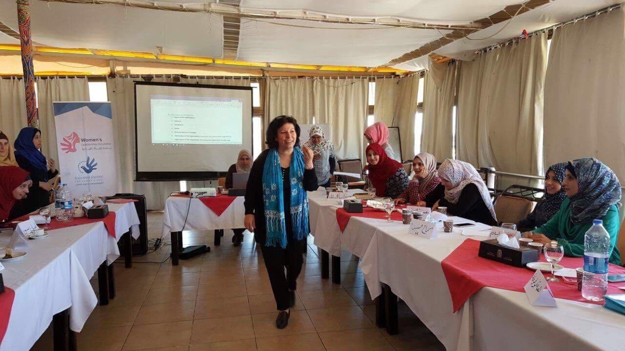 الأورومتوسطي يطلق سلسلة لقاءات مشروع حاضنة المرأة القيادية