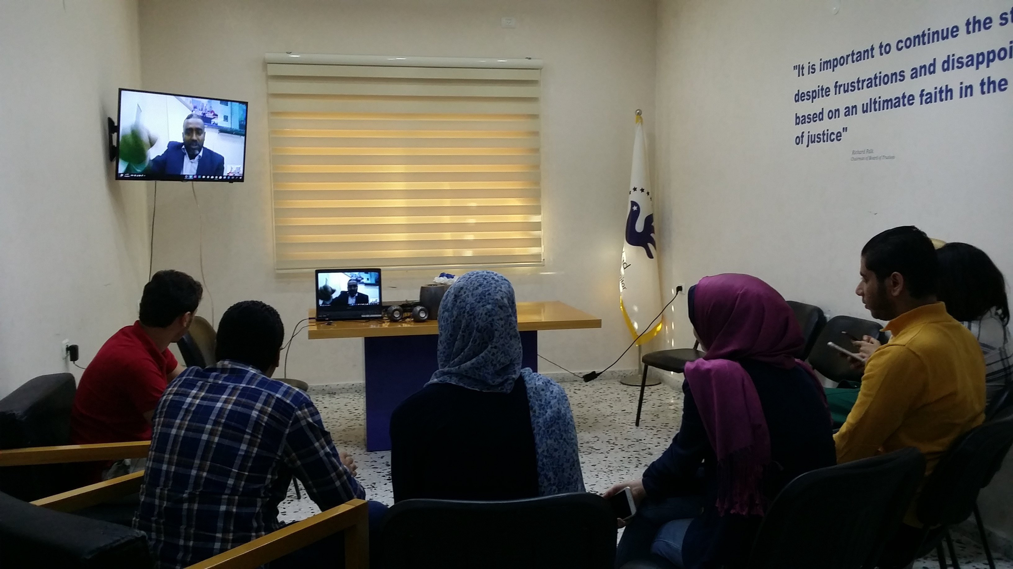 Al Jazeera Center offers intensive training for the team of researchers at Euro-Med
