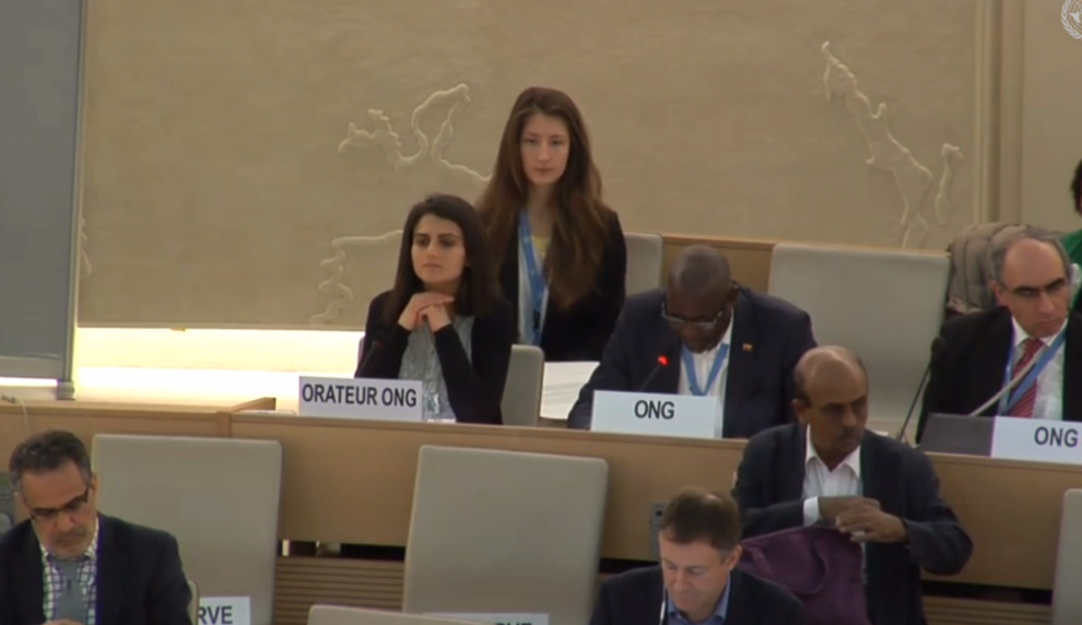 At HRC: Euro-Med Monitor addresses Israeli practices against Palestinian university students on background of student activities