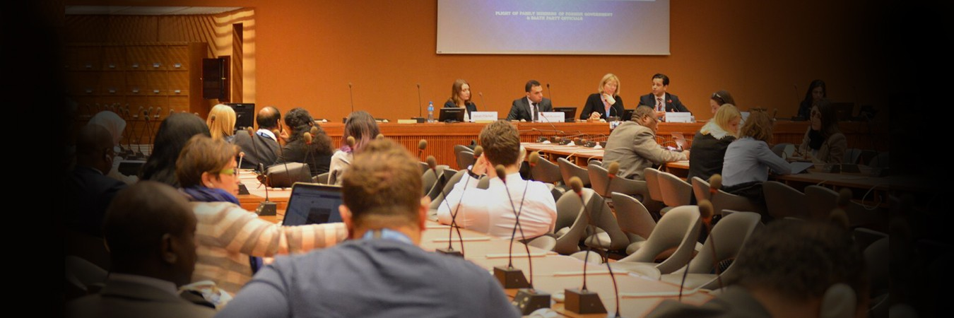 At HRC: Euro-Med and GIWEH organize workshop on humanitarian crises resulting from armed conflicts in the ME