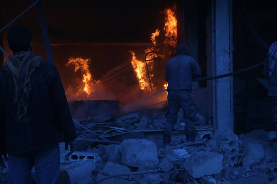 الأورومتوسطي والشبكة السورية يطالبان مجلس الأمن بموقف حاسم لإنقاذ الغوطة الشرقية