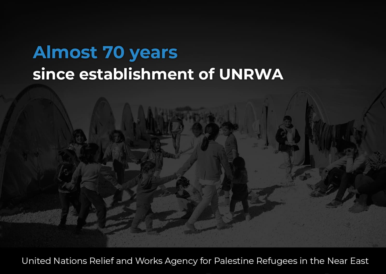 Decline of UNRWA services