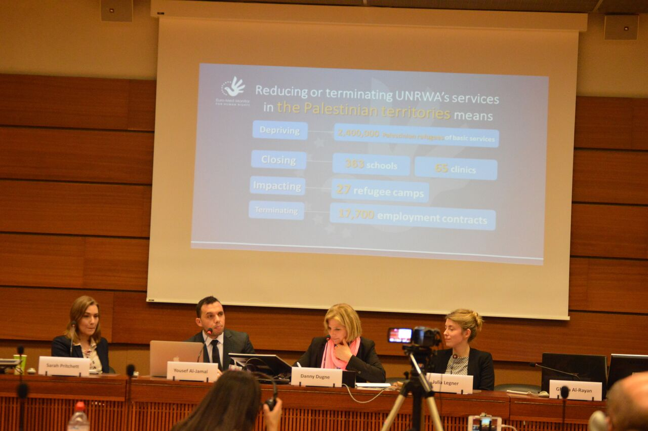At HRC: a workshop organized on the human rights situation in the Arab World by Euro-Med