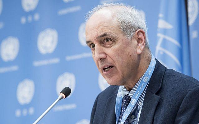تصريح مقتضب: المقرر الخاص المعني بحالة حقوق الإنسان في فلسطين يدعو لإجراء تحقيق في أحداث غزة