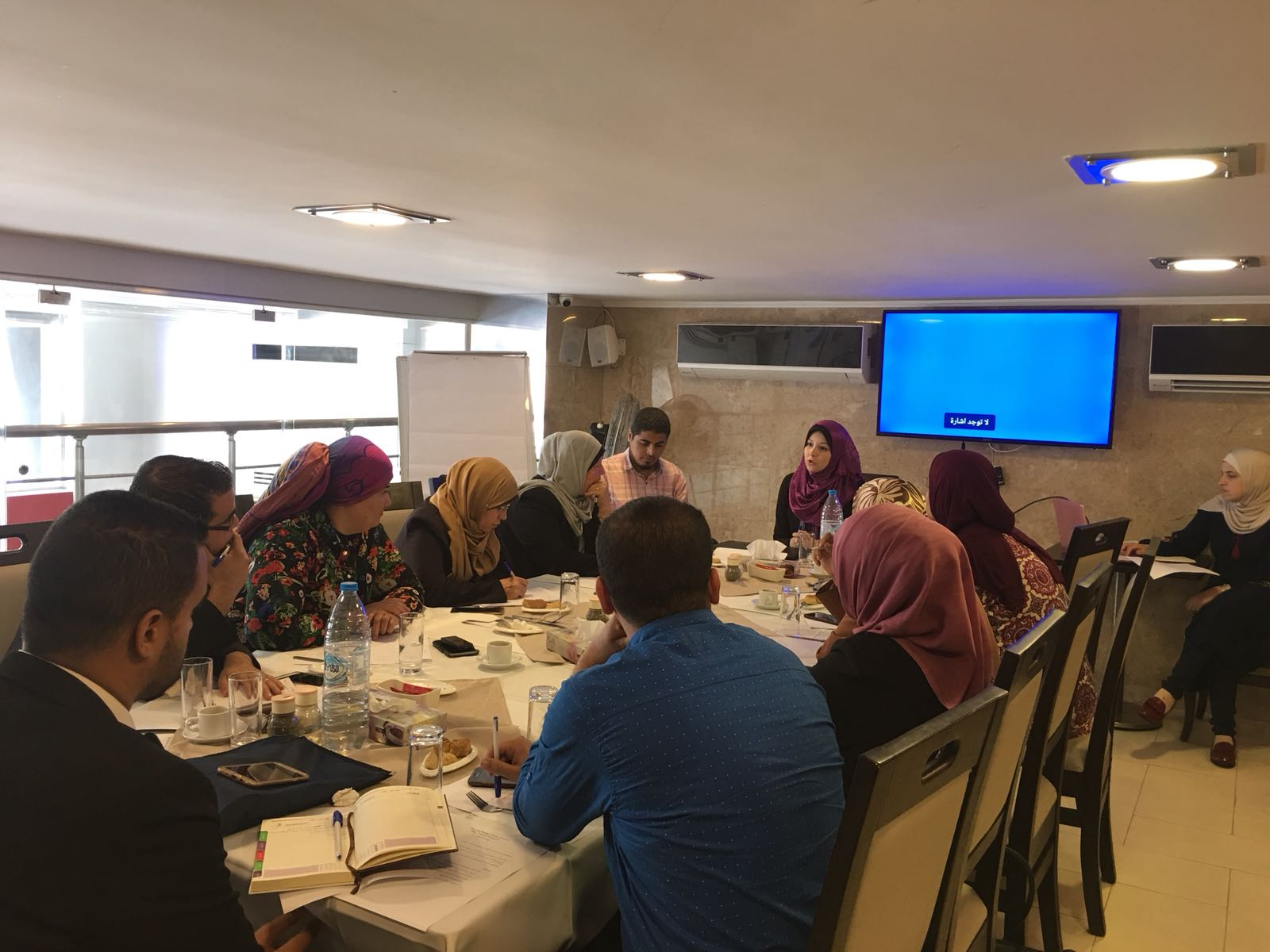 Euro-Med Monitor holds workshop to identify needs of participating organizations in Women's Leadership Incubator Project