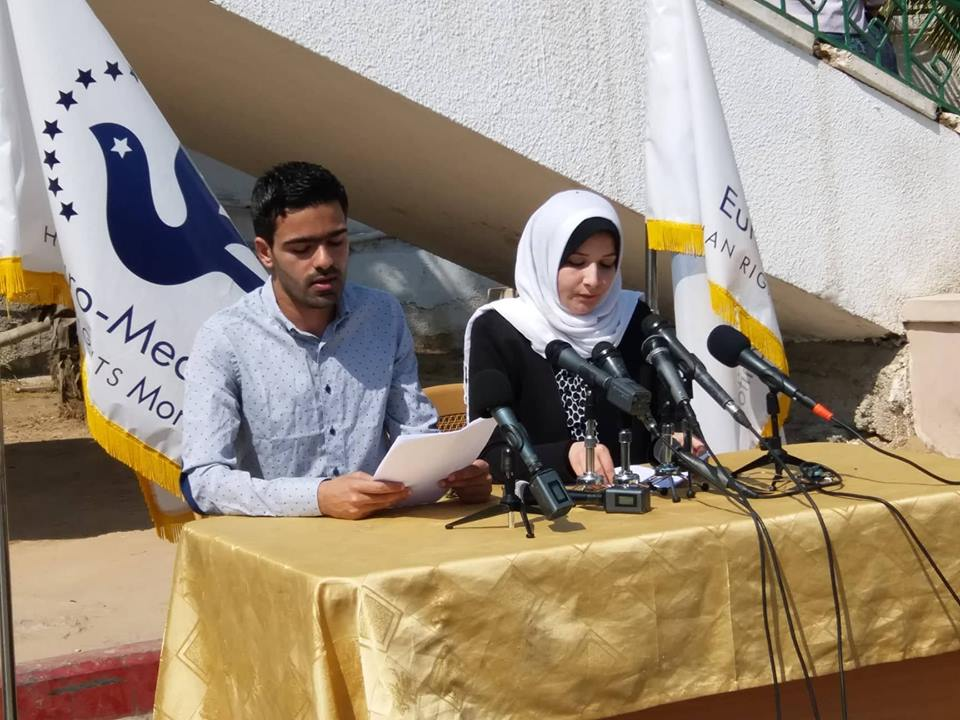 Communiqué conjoint: Appeler à une action internationale pour mettre fin à la punition collective de la population de Gaza et protéger les manifestants