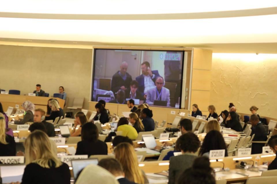 في بيان له أمام مجلس حقوق الإنسان.. الأورومتوسطي يدعو مجلس حقوق الإنسان لدعم مسار الجنائية الدولية وفرض العقوبات إزاء انتهاكات إسرائيل لحقوق الأطفال الفلسطينيين