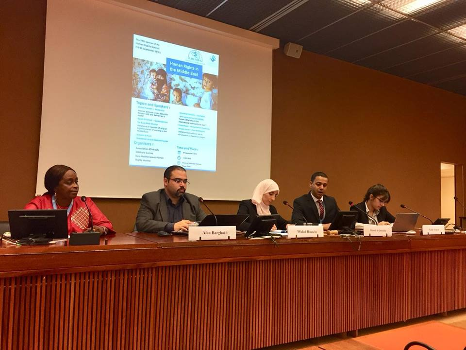 In a seminar co-organized with international organizations in Geneva, Euro-Med calls for ensuring freedom of religious practice and expression in the Middle East, warns of political repression