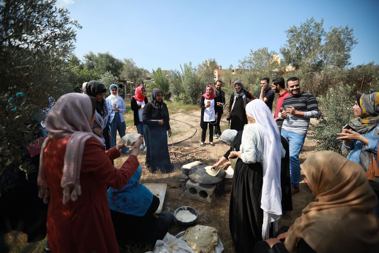 Women's Leadership Incubator project starts olive picking initiative in Gaza