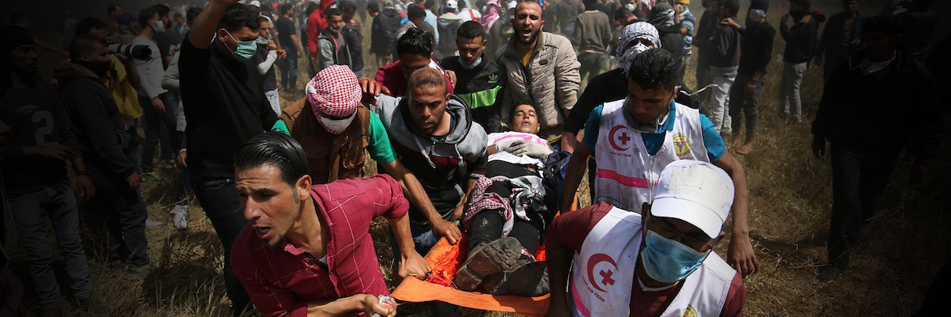 Israeli forces caused injuries to one in every 100 Palestinians as Gaza protests conclude 200 days, the international community must end the unfolding crisis