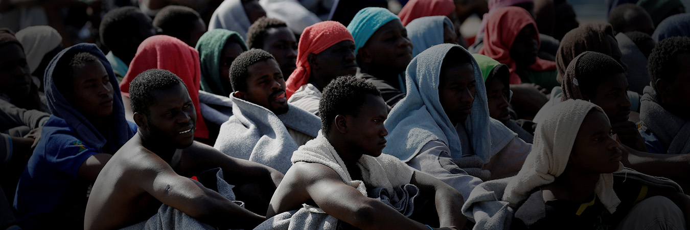 Press Release: On migrants stranded for 10 days on a merchant ship in the Mediterranean