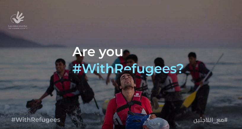 On World Refugee Day: Euro-Med launches 'refugee consultant' project