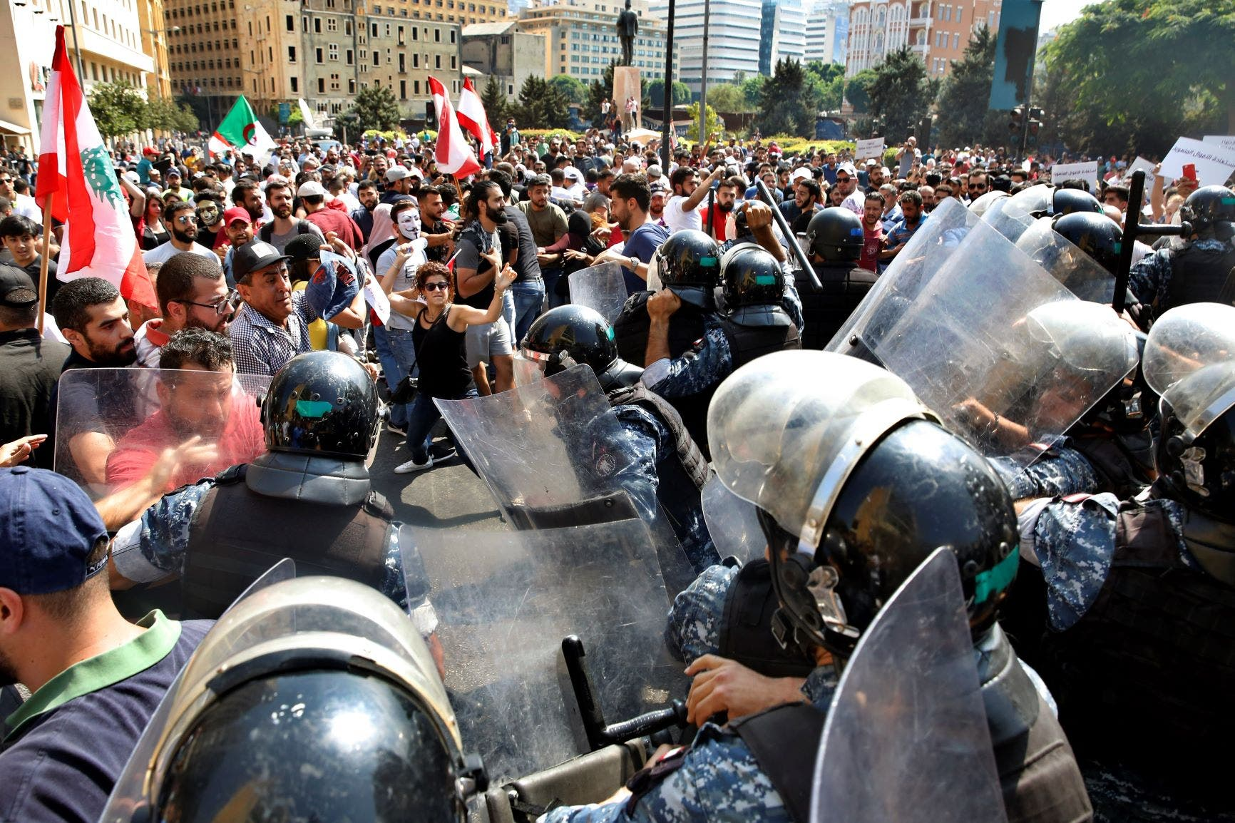Lebanese security services' handling of protests is a clear human rights violation
