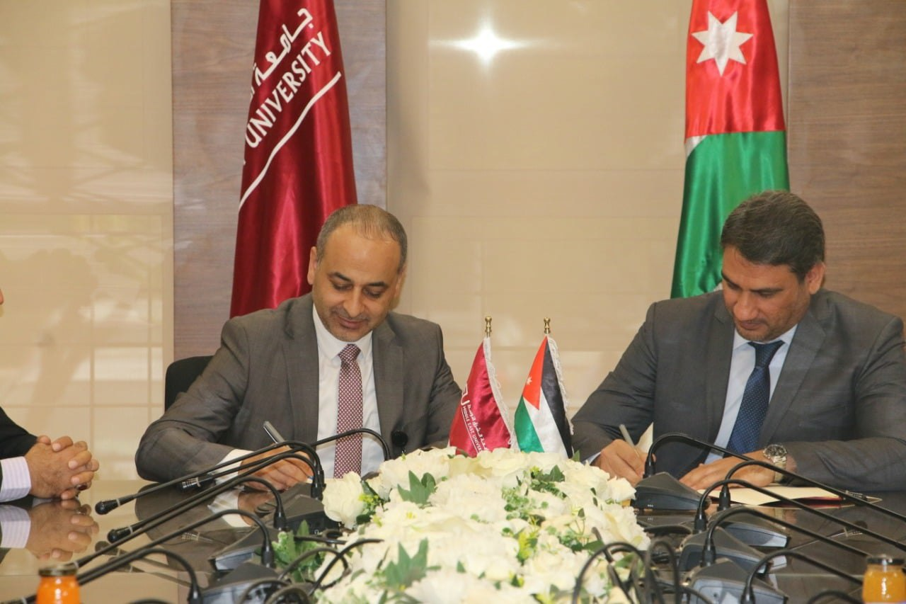 Euro-Med and Middle East University agree to cooperate to raise legal awareness among Jordanian youth